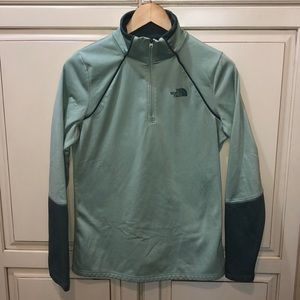 The north face athletic sweatshirt